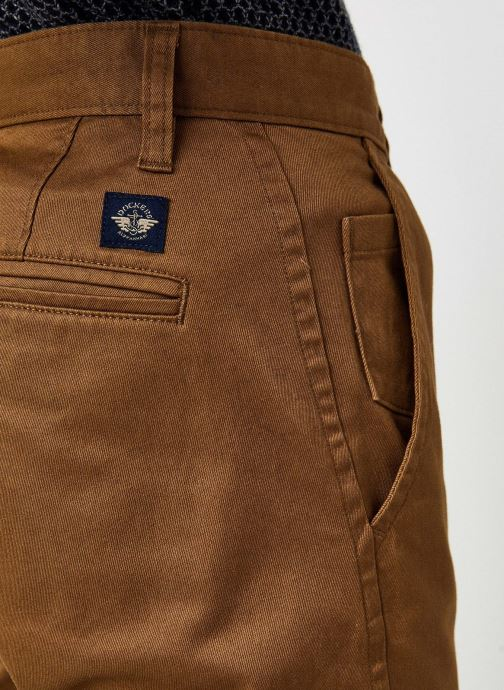 Vêtements Dockers Alpha Original Khaki - Slim Marron vue face